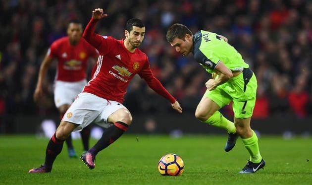 Манчестер Юнайтед вырвал ничью против Ливерпуля
