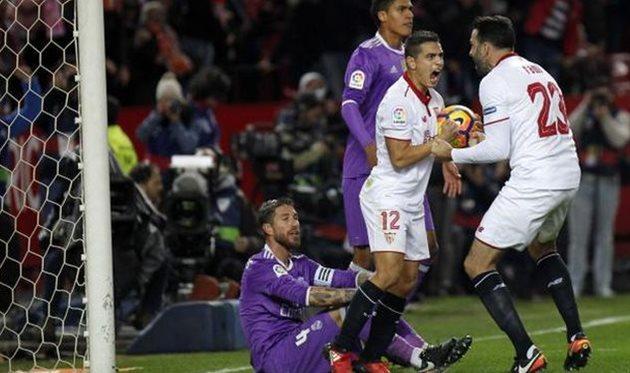 Севилья вырвала победу у Реала