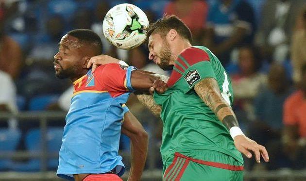 ДР Конго побеждает сборную Марокко