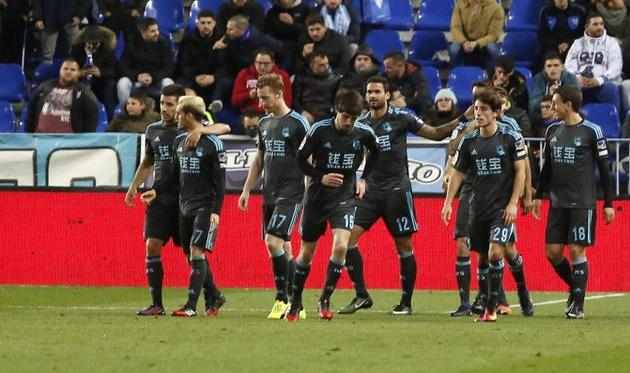 Реал Сосьедад уверенно побеждает в Малаге