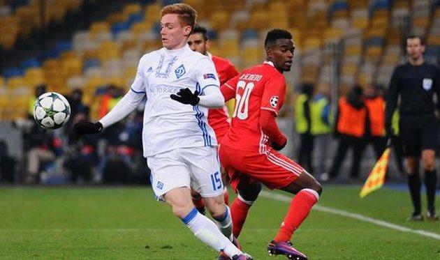 Полузащитник «Динамо» признан юниором года вУкраинском государстве