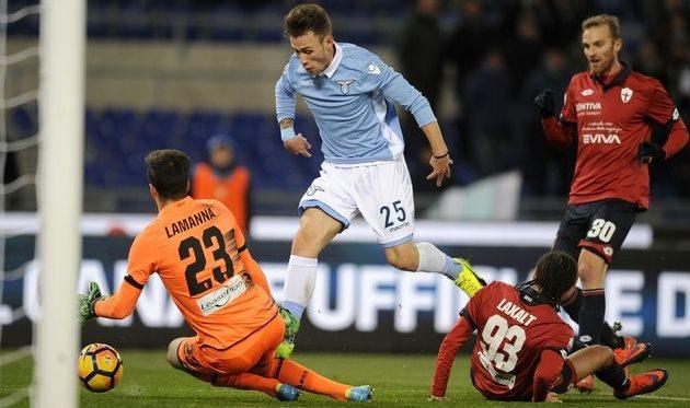 «Лацио» обыграл «Дженоа» ивышел вчетвертьфинал Кубка Италии