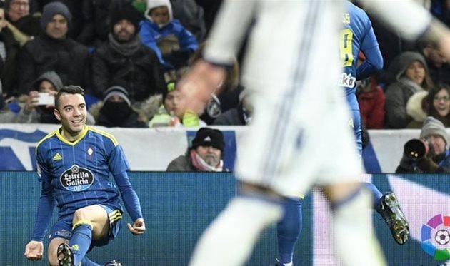 Сельта неожиданно переиграла Реал на выезде