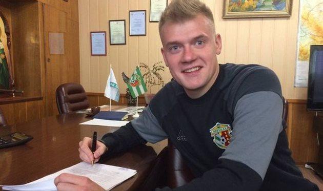 Дмитрий Хлебас продолжит карьеру в«Ворскле»