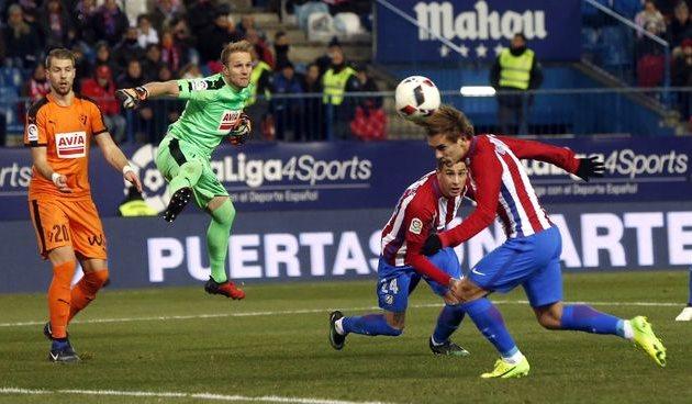 «Атлетико» справился с«Эйбаром» вматче Кубка Испании