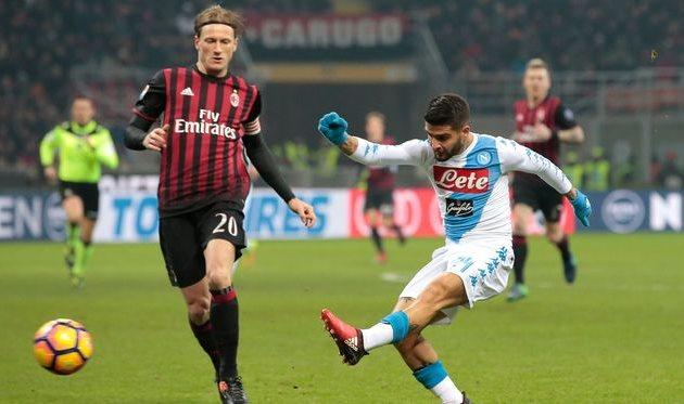 Наполи на выезде обыграл Милан