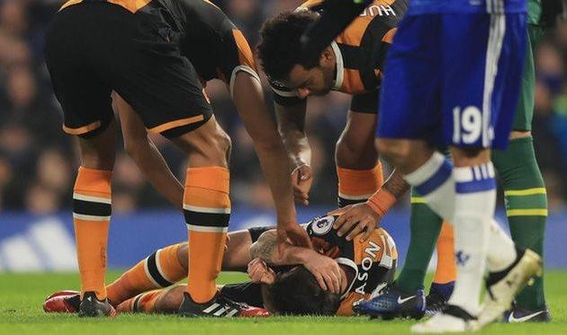 Футболист «Халла» получил перелом черепа вматче против «Челси»