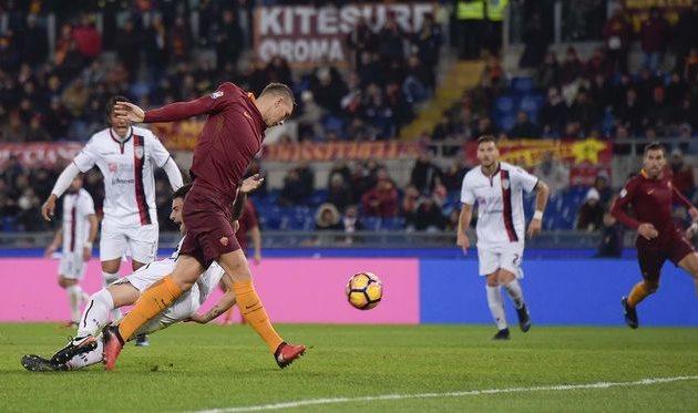 Рома переиграла Кальяри