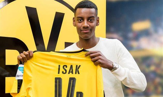 Исак может отказаться отперехода в«Реал» ради дортмундской «Боруссии»