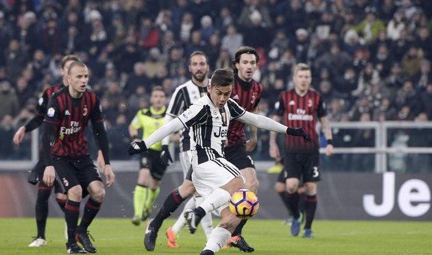Ювентус разобрался с Миланом