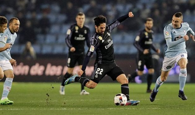 «Реал» не смог выйти в полуфинал Кубка Испании по футболу