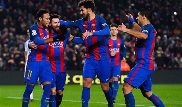 Барселона эффектно прошла Сосьедад