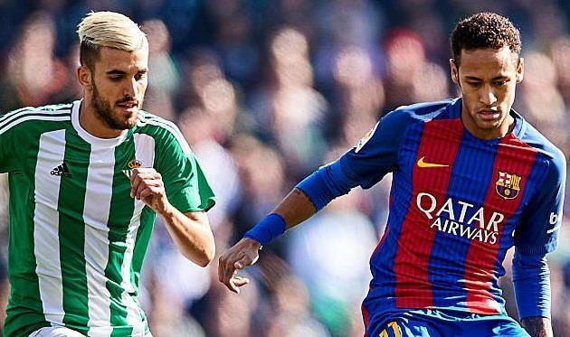 Барселона вырывает ничью в матче с Бетисом