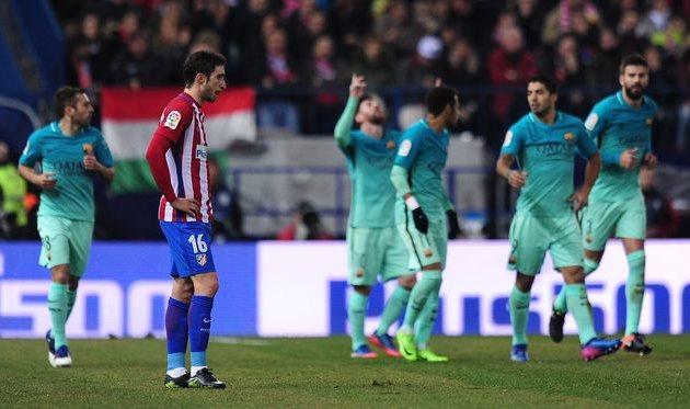 Барселона на выезде обыграла Атлетико