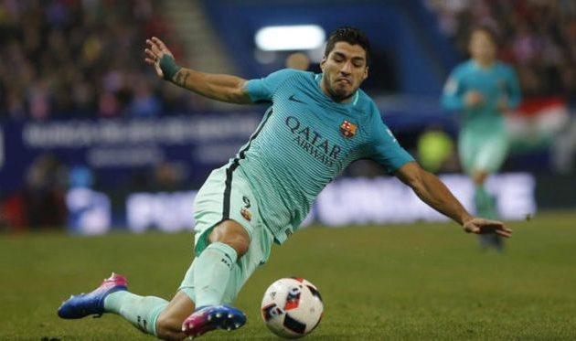 Слаломный гол Суареса, пушка Месси и иные мячи от«Барселоны» и«Атлетико»
