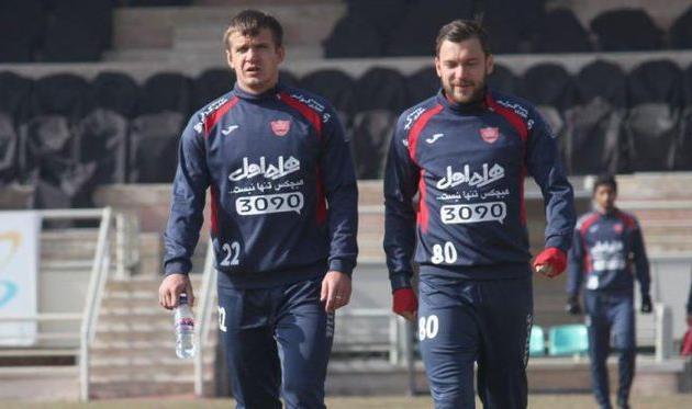 Алексей Полянский (слева) и Владимир Приемов, fc-perspolis.com