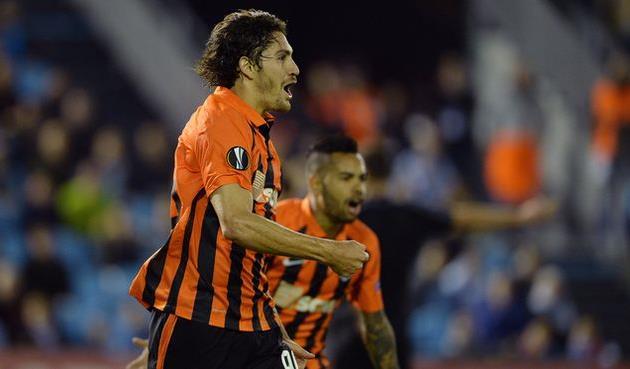 Бланко-Лещук празднует гол в ворота Сельты, uefa.com