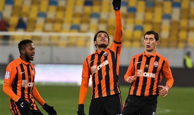 «Шахтер» забил победный гол вворота «Ворсклы» напоследней минуте