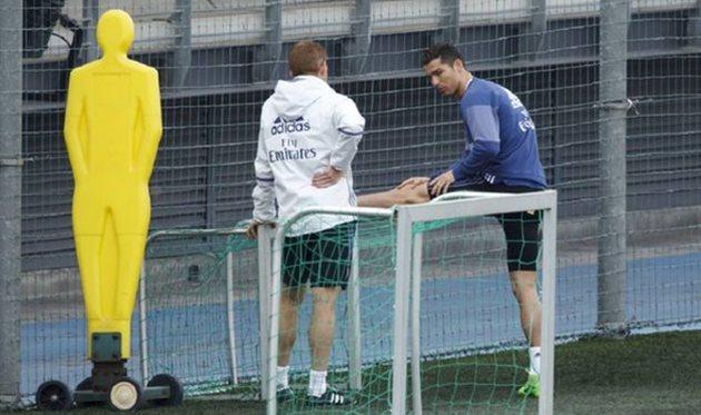 Роналду тренируется по особой программе и наврядли сыграет против «Эйбара»