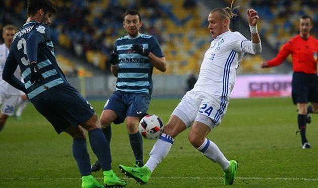 Динамо Киев вырвало победу у Олимпика