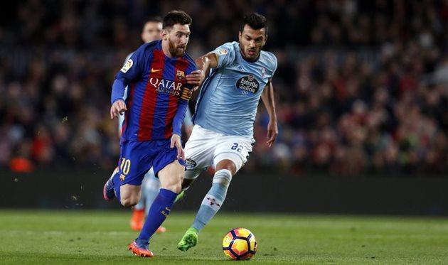 «Барселона» забила 5 мячей «Сельте»