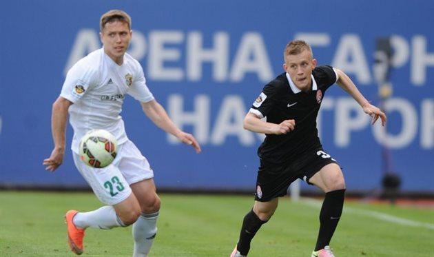 Гречишкин из«Зари» забил роскошный гол «Ворскле»