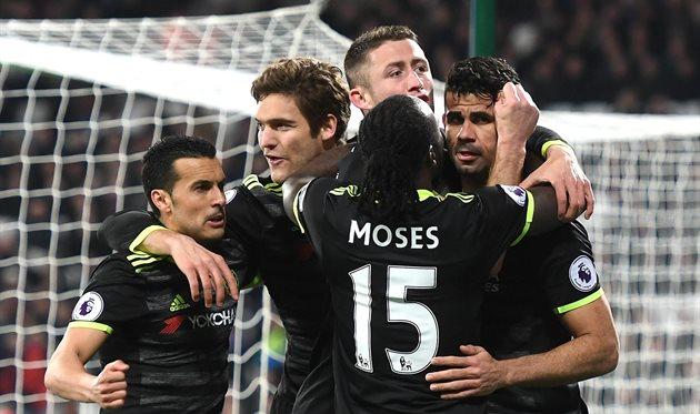 Челси победил Вест Хэм, getty images