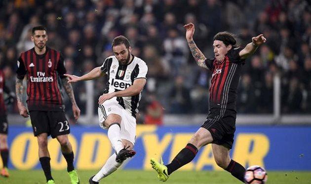 Ювентус вырвал победу у Милана