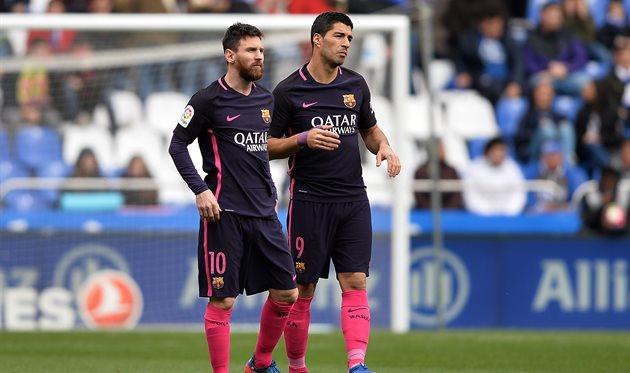 «Барселона» уступила вгостях «Депортиво»