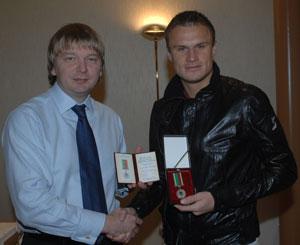 Вячеслав Шевчук и Сергей Палкин, фото shakhtar.com