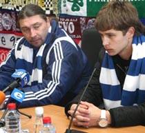 Босс и Кравец, фото fcdynamo.kiev.ua