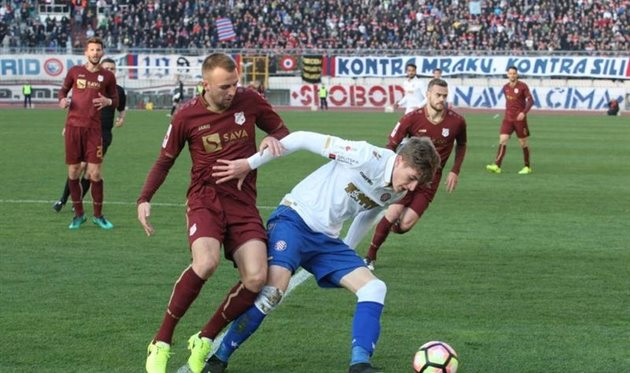 Два матча чемпионата Хорватии пройдут при пустых трибунах