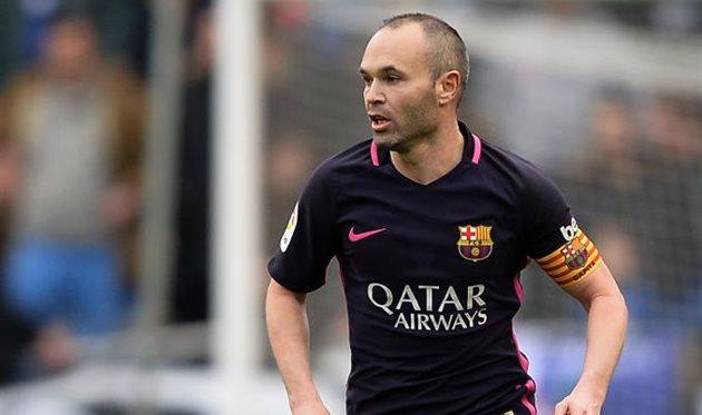 Пике: Иньеста продлит договор  с«Барселоной»