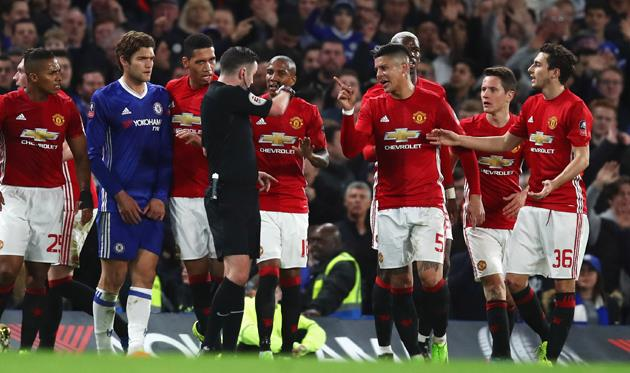 ФА оштрафовала Манчестер Юнайтед
