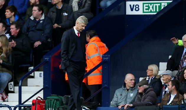 Падение продолжается: «Арсенал» проиграл «Вест Бромвичу» в29-м туре АПЛ