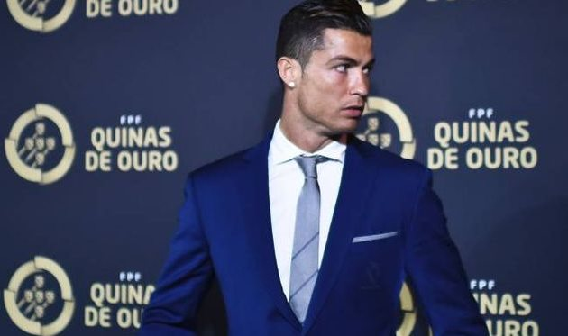 Форвард «Реала» Криштиану Роналду признан лучшим футболистом следующего года  вПортугалии