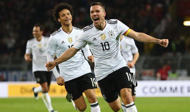 Германия минимально обыграла Англию