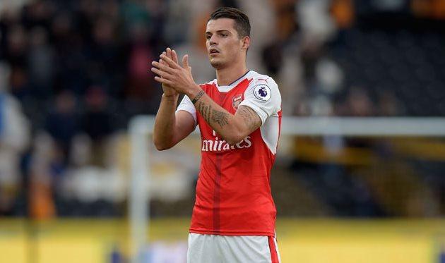 Джака считает, что «Арсенал» находится наодном уровне с«Баварией»