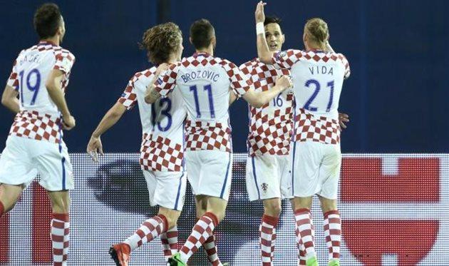 Хорватия минимально обыграла Украину