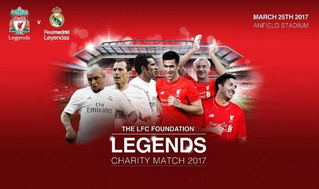 Легенды «Ливерпуля» и«Реала» устроили голевую стрельбу на«Энфилде»
