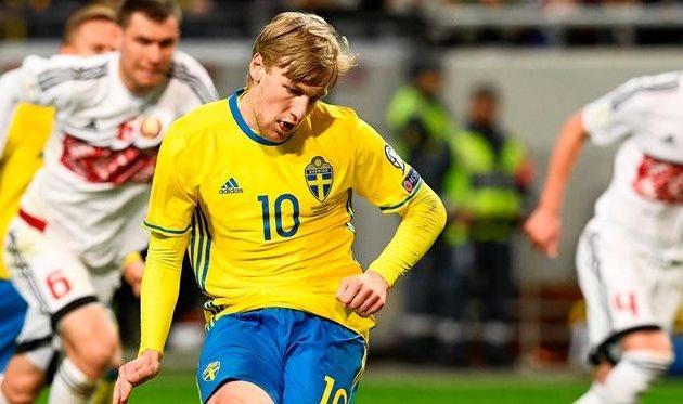 Швеция разгромила Беларусь