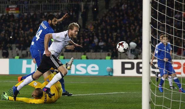 Чехия забила 6 безответный мячей вворота Сан-Марино