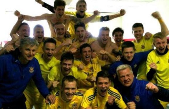 Юношеская сборная Украины пробилась начемпионат Европы благодаря голу напоследней минуте