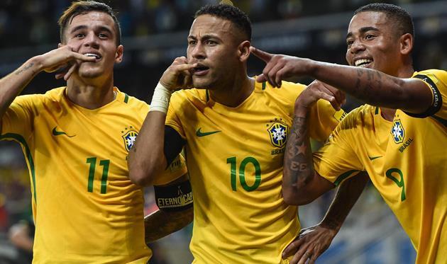 Бразилия— первая команда, которая отобралась наЧМ в РФ