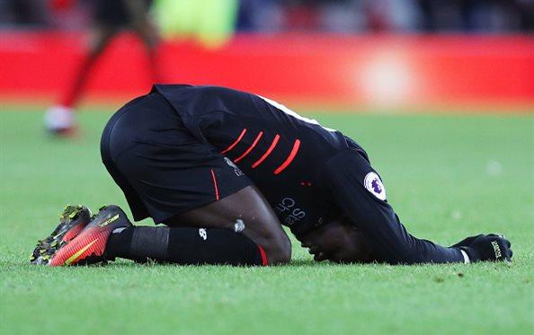 Футболист «Ливерпуля» Мане пропустит остаток сезона из-за травмы