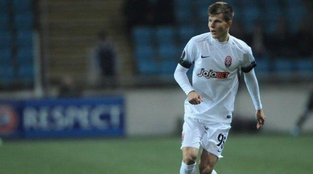 Турецкий «Бешикташ» может приобрести игрока сборной государства Украины за3,5 млн. евро