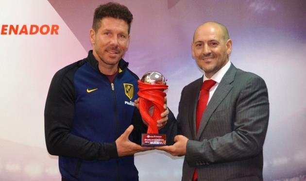 Симеоне — лучший тренер марта в Ла Лиге