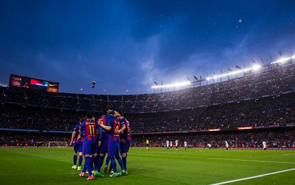 Барселона без проблем разгромила Севилью