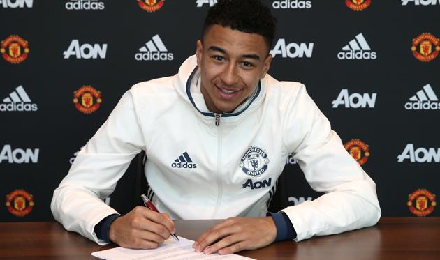 Лингард продлил контракт с Манчестер Юнайтед