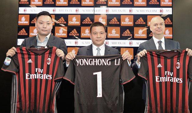 Йонхон Ли — новый президент Милана